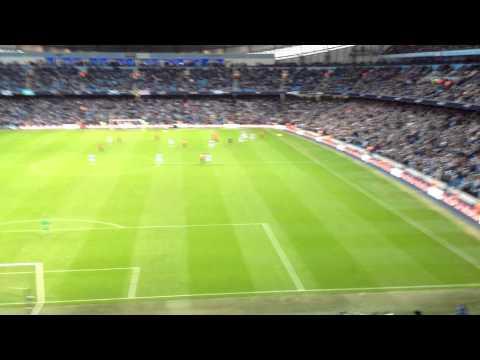 Robin Van Persie Injury Time Winner V Man City at Etihad Stadium & Final Whistle, 9th December 2012