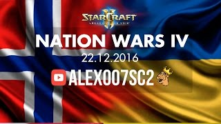 Nation Wars Ro16 - Норвегия vs Украина - StarCraft 2 LotV