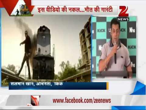 Salman Khan fan attempts Kick movie stunt