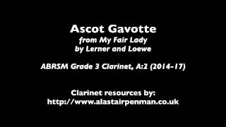 Ascot Gavotte by Alan Jay Lerner and Frederick Loewe