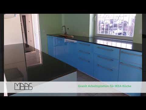 Köln IKEA Küche mit Star Galaxy Granit Arbeitsplatten