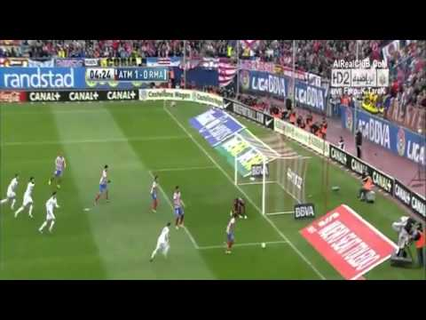 Full HQ Real Madrid Vs Atletico Madrid 2-1 All Goals and Highlights (27/4/2013)