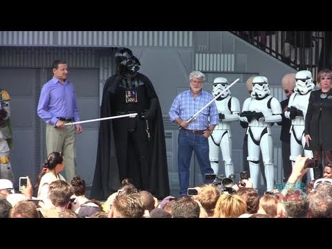 Star Tours 2 grand opening dedication with George Lucas, Bob Iger and more at Walt Disney World
