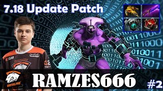 Ramzes - Faceless Void MID | 7.18 Update Patch | Dota 2 Pro MMR Gameplay #2