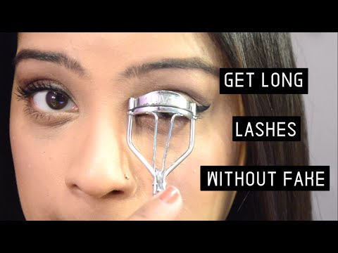 Get Long & Voluminous  Lashes | Step By Step Tutorial