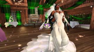 Van & Cleo Second Life Wedding - 4.20.16