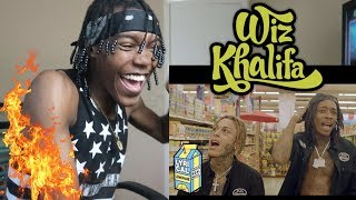 Wiz Khalifa Fr Fr Ft Lil Skies Dir By A Colebennett Reaction