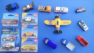 Learning Street Vehicles Names and Sounds for kids with Toys 2016 Cars and Trucks