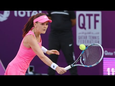 2016 Qatar Total Open Round of 16 | Agnieszka Radwanska vs Monica Niculescu | WTA Highlights