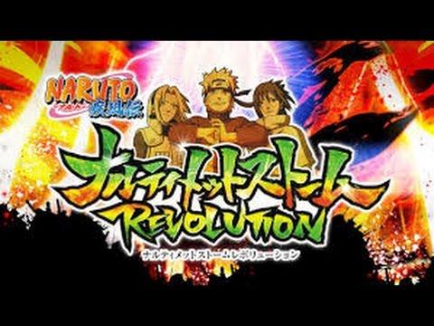 Naruto Storm Revolution (pasando Rato Con El Traficante De La Porno Xd) video