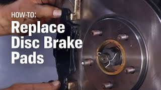 How to Replace Brake Pads - AutoZone Car Care