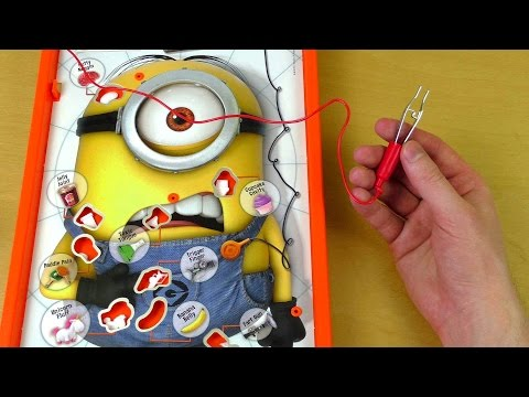 Minions Operation Game video
