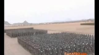 Eritrea oo soo bandhigtay cudud ciidan
