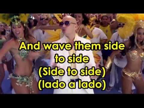 Pitbull - We Are One ft. Jennifer Lopez and Claudia Leitte (karaoke instrumental with lyrics)