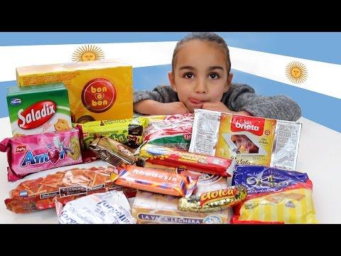 Chuches Argentinas! Snacks, dulces y chucherías de Argentina. Divertilandia!