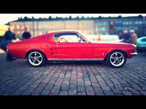 1967 Ford Mustang Fastback 289 Startup And V8 Sound