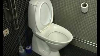 Gammelt gustavsberg toilet løber