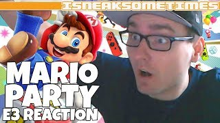 Super Mario Party Nintendo E3 Trailer Reaction (OLD STYLE!)