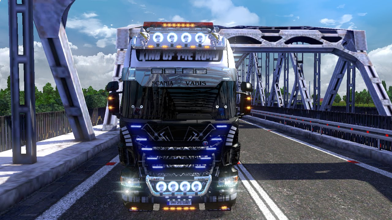 euro truck simulator 2 scania r730 king of the road. Black Bedroom Furniture Sets. Home Design Ideas