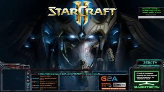 Профессиональное 2x2 с Brat_OK и ZERGTV | StarCraft 2