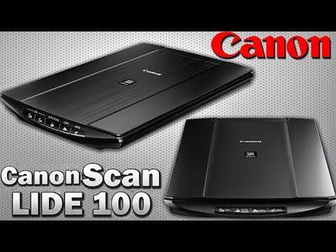 Скачать Canon CanoScan LiDE 100 Scanner
