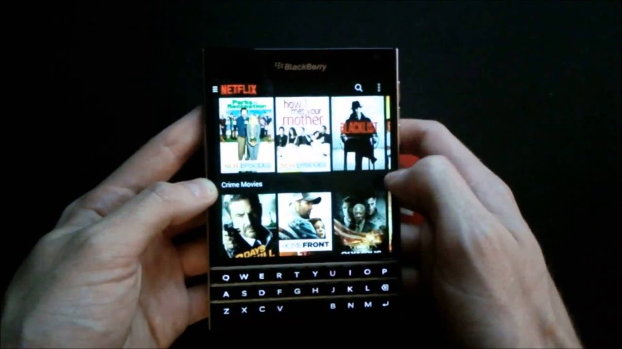 BlackBerry Passport: Android App Zoom Feature - YouTube