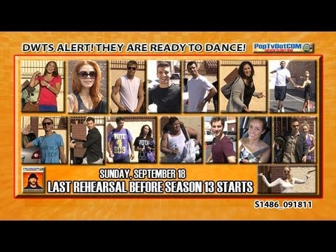DWTS Final Practice Before Season 13 Starts S1486