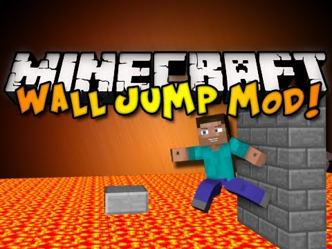 Minecraft: Wall Jump Mod! (HD)