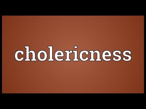 Header of cholericness