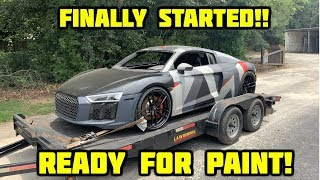Rebuilding a Wrecked 2018 Audi R8 Part 9