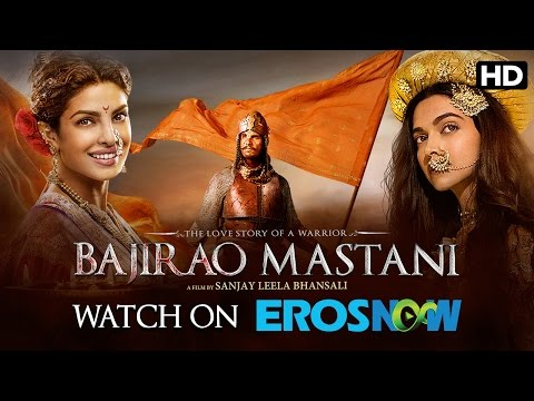 Bajirao Mastani Live On Eros Now