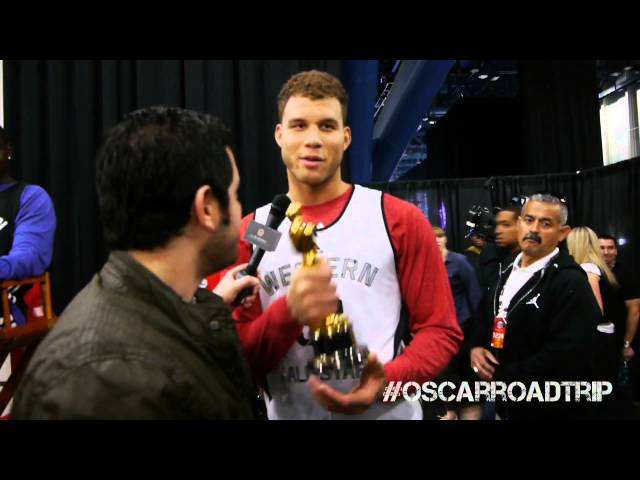 Oscar Visits NBA All-Star Weekend
