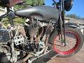 1927 Harley Davidson J Cut Down