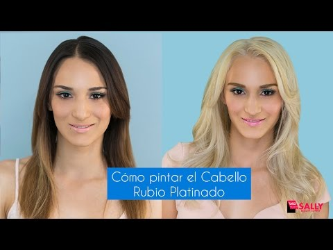 Cmo pintar el cabello rubio platinado how to save money and do it yourself - Rubio platino en casa ...