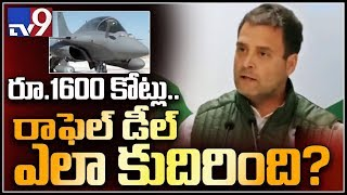 Why was Rafale deal agreed for 16 thousand crores? - Rahul Gandhi  - netivaarthalu.com