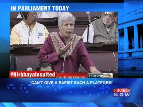 Women in Parliament debate the controversy over Nirbhaya documentary
