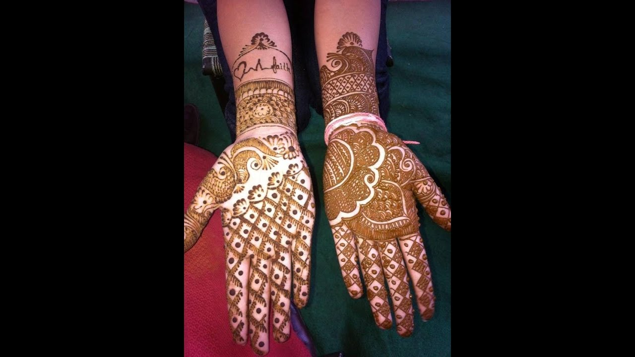 Easy and Quick Henna Mehndi Tattoo Design For Beginners ...