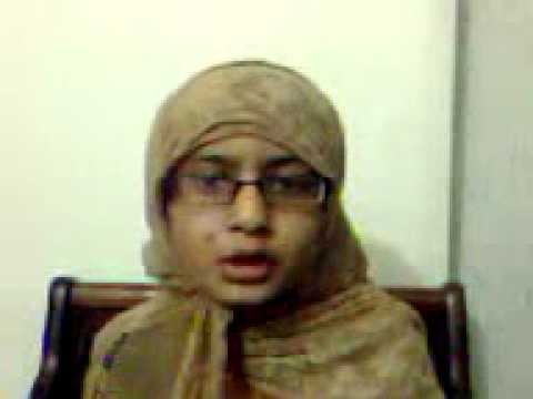 Lahori's Niece Khair Ul Wara's Naat thandi Thandi Hawa video