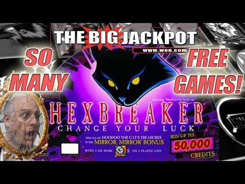 🙀HEXBREAKER BONANZA! 🙀SO MANY FREE GAMES! 💥FUN WIN$ at RENO | The Big Jackpot