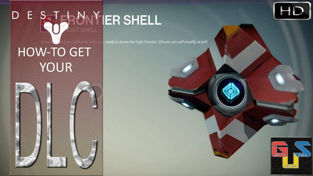 Destiny how to access your ghost skin frontier shell dlc and ship