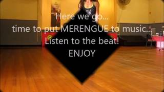 Merengue Steps Breakdown and practise with music