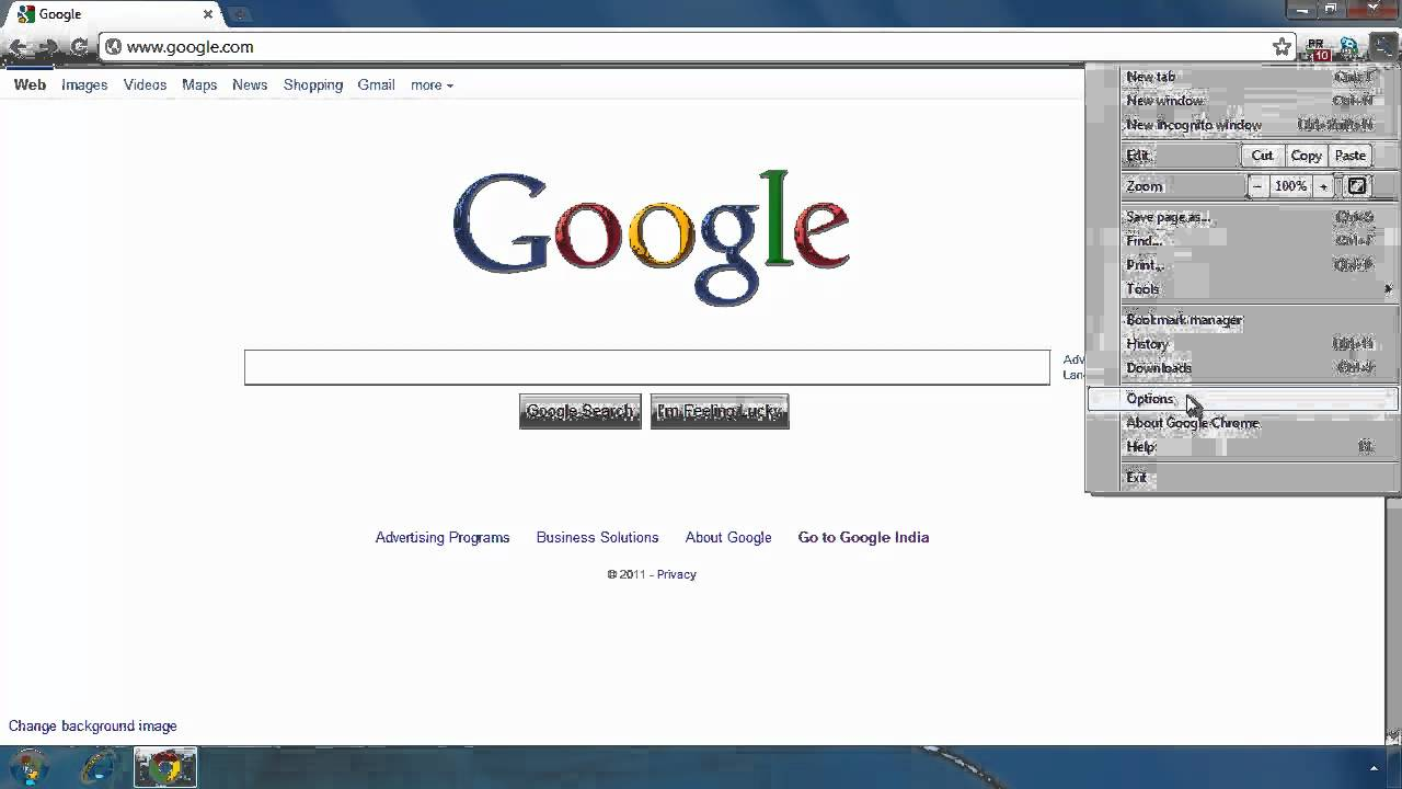 how to change default search browser in google chrome