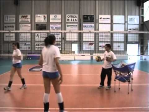 Voleibol: Ejercicios ataque 1