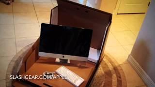 Unboxing 2014 27-inch Retina iMac!