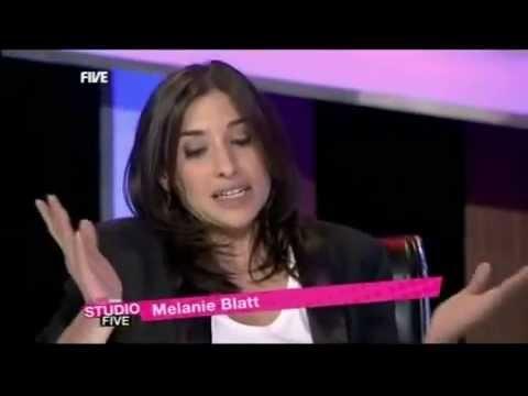 All Saints Melanie Blatt   Interview Live on five AGY