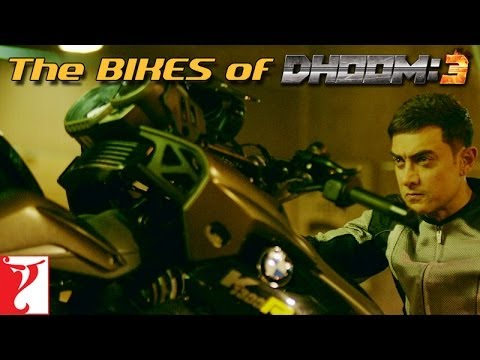 The Bikes Of Dhoom:3 video