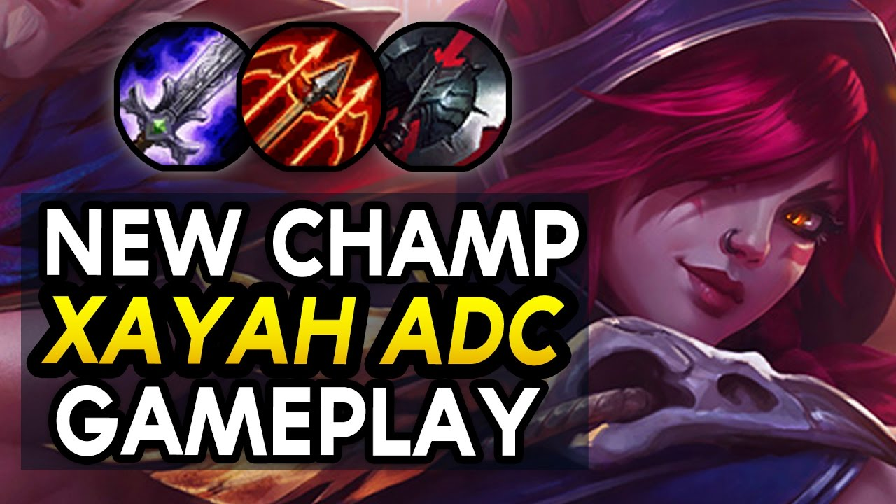 NEW CHAMP XAYAH ADC IS BROKEN! Xayah GAMEPLAY Duo with RAKAN (League of Legends)