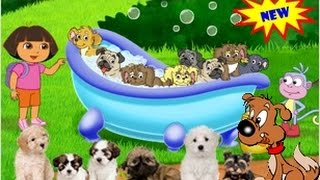 DORA THE EXPLORER - Game Play - Dora Amazing Puppy Adventures | Games Online HD (Game for Kids)