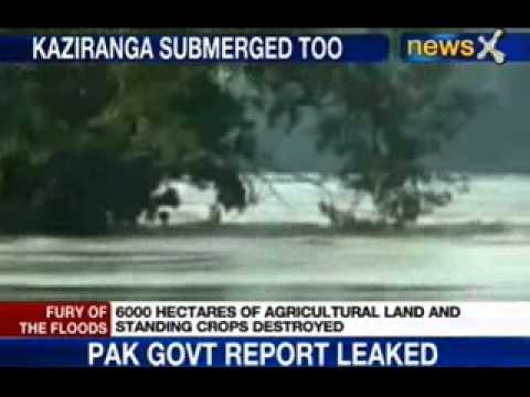 News X : Assam hit by floods