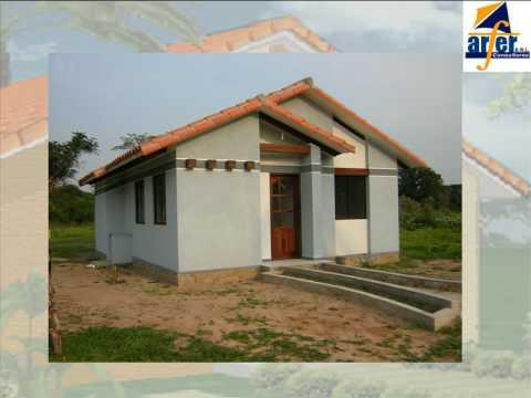 Casas de material economicas